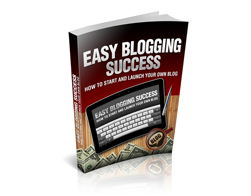 Free MRR eBook – Easy Blogging Success