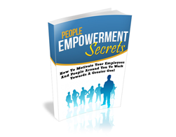 Free MRR eBook – People Empowerment Secrets