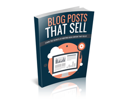 Free MRR eBook – Blog Posts That Sell