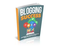 Free MRR eBook – Blogging Success
