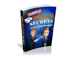 Free MRR eBook – Simple Joint Venture Secrets