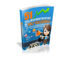 Free MRR eBook – 51 Social Media Marketing Methods to Build Your Business