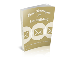 Free MRR eBook – Core Strategies for List Building