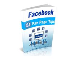 Free MRR eBook – Facebook Fan Page Tips