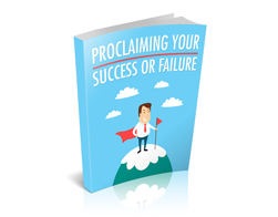 Free MRR eBook – Proclaiming Your Success or Failure