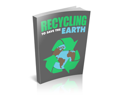 Free MRR eBook – Recycling to Save the Earth