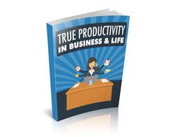 Free MRR eBook – True Productivity in Business & Life