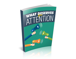 Free MRR eBook – What Deserves Your Attention