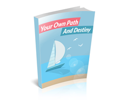 Free MRR eBook – Your Own Path and Destiny