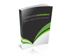 Free PLR eBook – List Building Achievements
