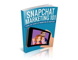 Free PLR eBook – Snapchat Marketing 101