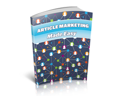 Free MRR eBook – Article Marketing Made Easy