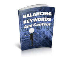 Free MRR eBook – Balancing Keywords and Content
