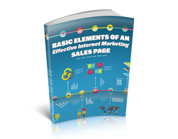 Free MRR eBook – Basic Elements of an Effective Internet Marketing Sales Page