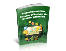 Free MRR eBook – Generating Multiple Streams of Income via Internet Marketing