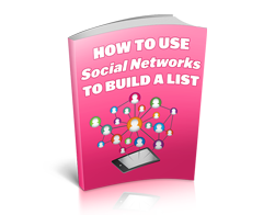 Free MRR eBook – How to Use Social Networks to Build a List