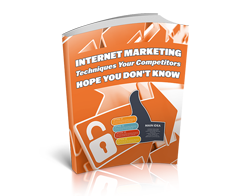 Free MRR eBook – Internet Marketing Techniques Your Competitors Hope You Don't Know
