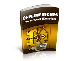 Free MRR eBook – Offline Riches for Internet Marketers
