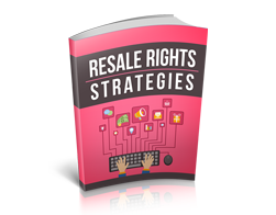 Free MRR eBook – Resale Rights Strategies