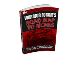 Free MRR eBook – The Warrior Forum's Road Map to Riches