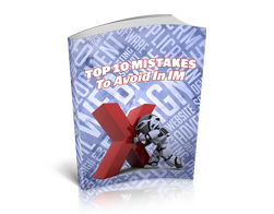 Free MRR eBook – Top 10 Mistakes to Avoid in IM