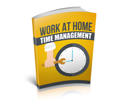 Free MRR eBook – Work at Home Time Management