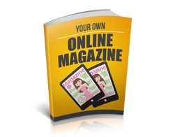 Free MRR eBook – Your Own Online Magazine