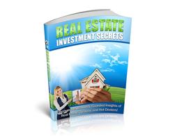 Free PLR eBook – Real Estate Investment Secrets