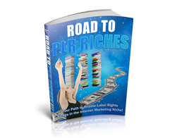 Free PLR eBook – Road to PLR Riches