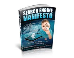 Free PLR eBook – Search Engine Manifesto
