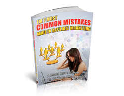 Free PLR eBook – The 7 Most Common Mistakes Made in Affiliate Marketing