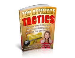 Free PLR eBook – Top Affiliate Tactics