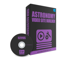 Astronomy Video Site Builder