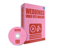 Free MRR Software – Weddings Video Site Builder