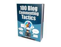Free MRR eBook – 100 Blog Commenting Tactics
