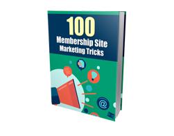 Free MRR eBook – 100 Membership Site Marketing Tricks