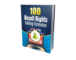 Free MRR eBook – 100 Resell Rights Selling Formulas