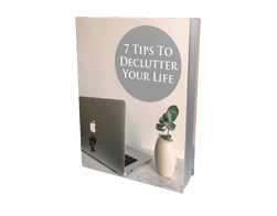 Free MRR eBook – 7 Tips to Declutter Your Life