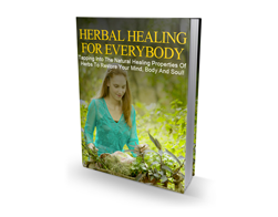 Free MRR eBook – Herbal Healing for Everybody