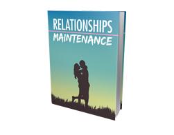 Free MRR eBook – Relationships Maintenance