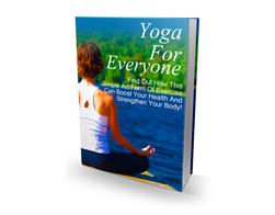 Free MRR eBook – Yoga for Everyone