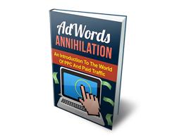 Free MRR eBook – AdWords Annihilation