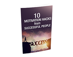 Free MRR eBook – 10 Motivation Hacks From Successful People