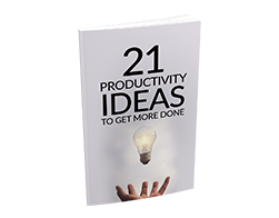Free MRR eBook – 21 Productivity Ideas to Get More Done