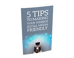 Free MRR eBook – 5 Tips to Making Your Website Social Media Friendly