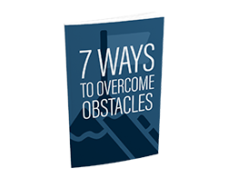 Free MRR eBook – 7 Ways to Overcome Obstacles