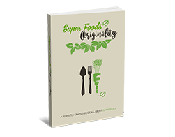 Free MRR eBook – Super Foods Originality